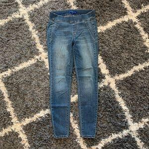 APT. 9 Skinny pull-on jeans